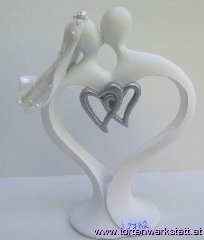 FI LO Brautpaar in Herzform
