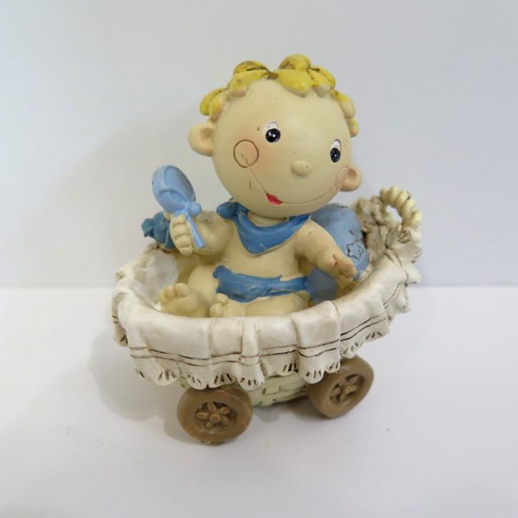 FI DI Baby Anton im Stubenkorb gross