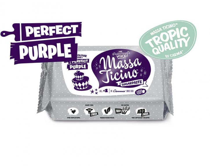 FM CA Fondantmasse Massa ticino perfect purple 250g