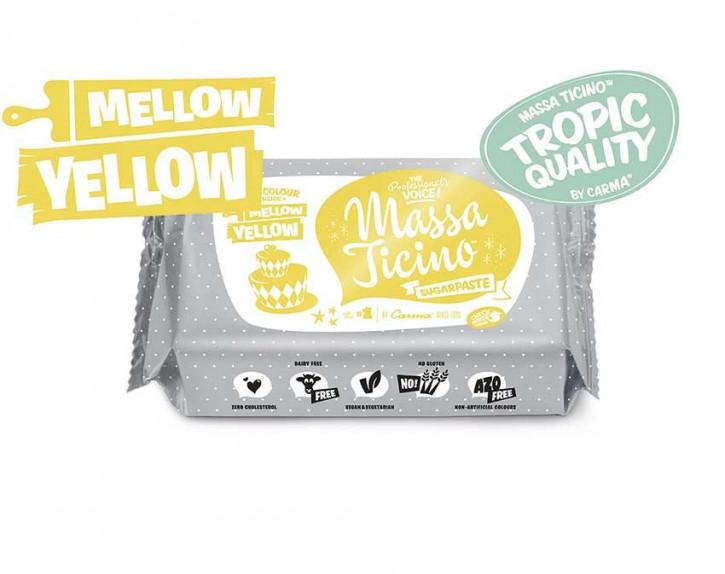FM CA Fondantmasse Massa ticino mellow yellow 250g