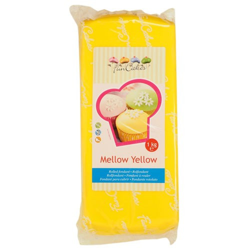 FM FC Fondantmasse 1kg mellow yellow