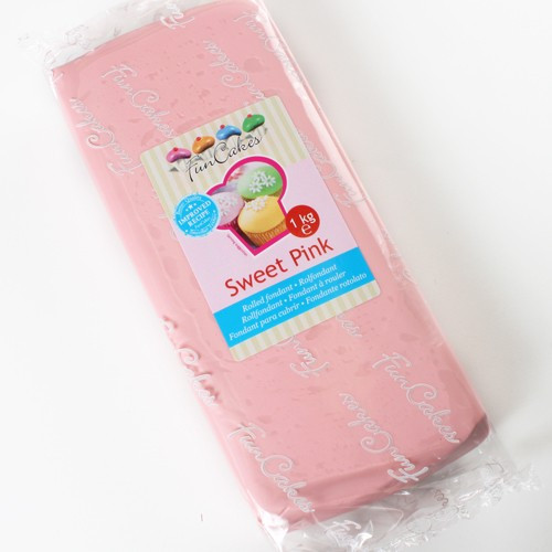 FM FC Fondantmasse sweet pink 1kg
