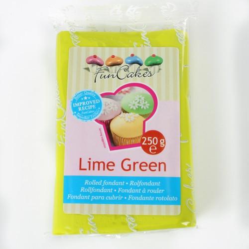 FM FC Fondantmasse lime green 250g