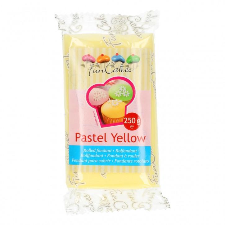 FM FC Fondantmasse pastel yellow 250g