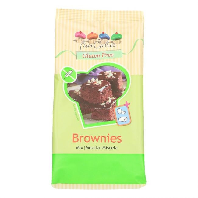 LM FC Brownies Mix, glutenfrei 500g