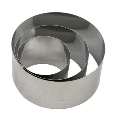WE LA Dessert-Ring, 7,5cm, Edelstahl, extra hoch