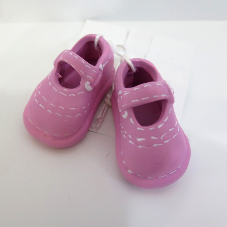 FI HF Baby Schuhe Keramik rosa