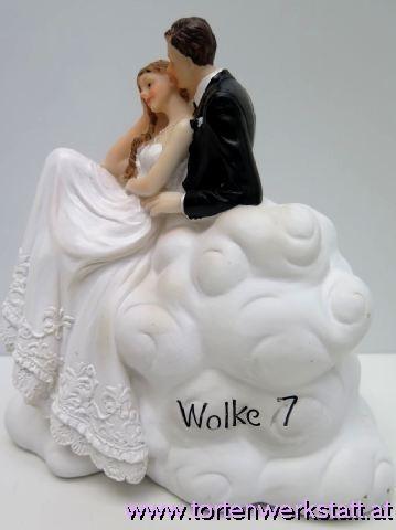 FI US Spardose Brautpaar auf Wolke sieben