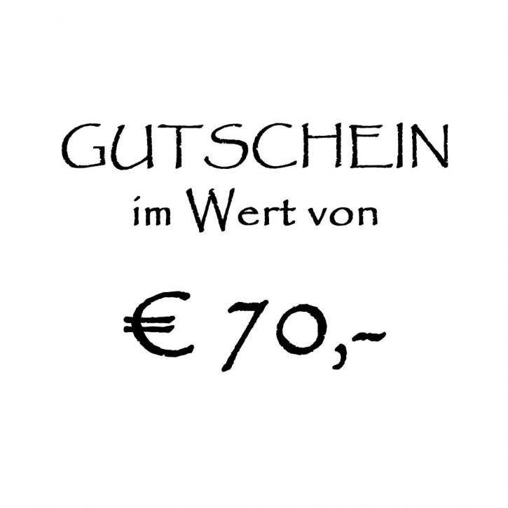 Gutschein im Wert von EUR 5,-