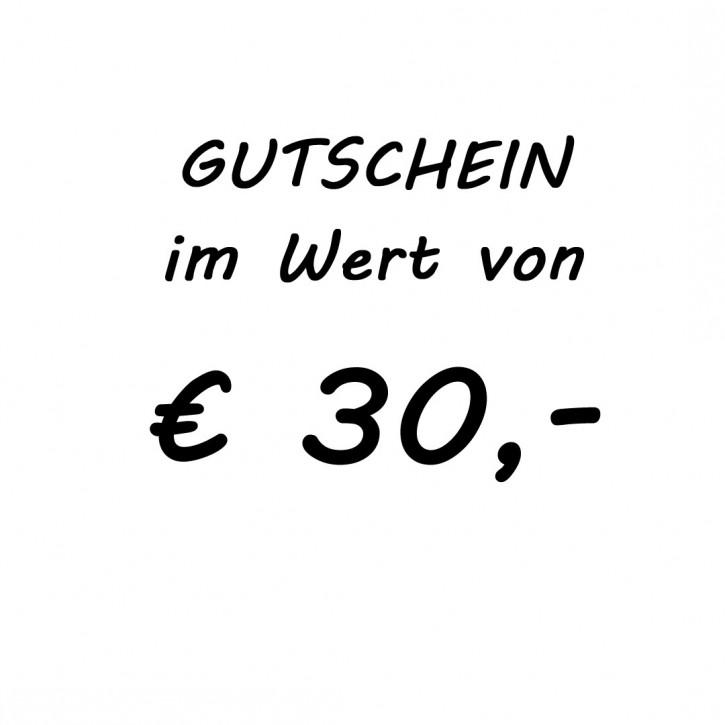 Gutschein im Wert von EUR 30,-