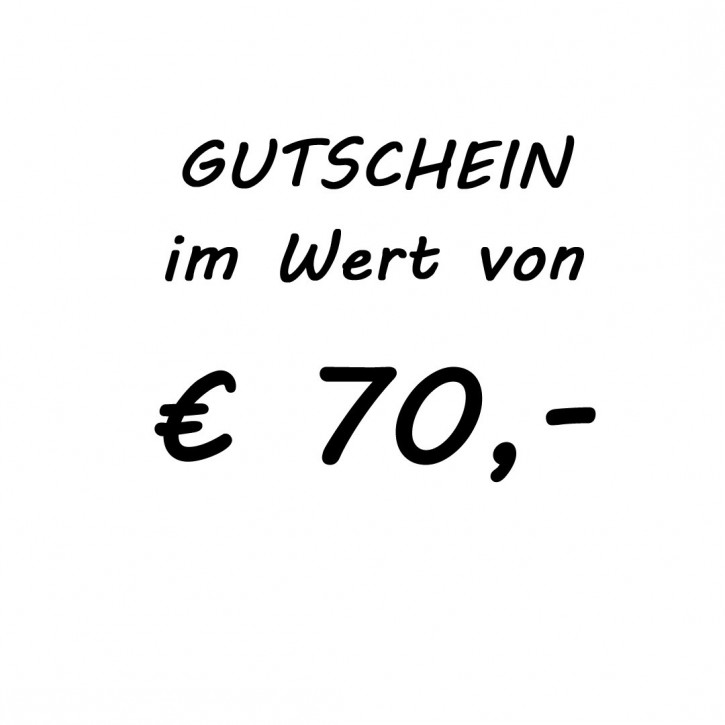 Gutschein im Wert von EUR 79,-