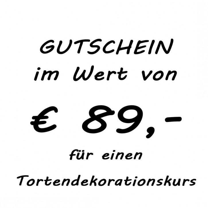Gutschein im Wert von EUR 89,-