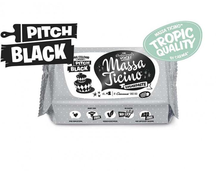 FM CA Fondantmasse Massa Ticino black 1kg