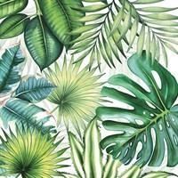 BS AM Servietten Tropical Leaves