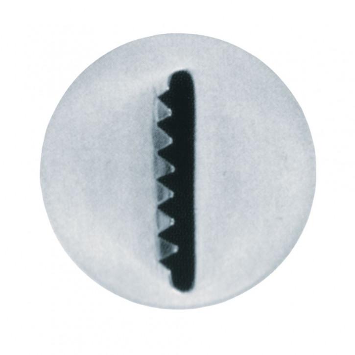 TÜ ST Sternbandtülle 16mm glatt/gezackt