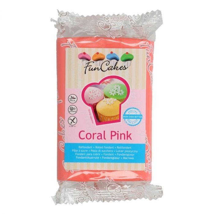 FM FC Fondantmasse 250g Coral Pink