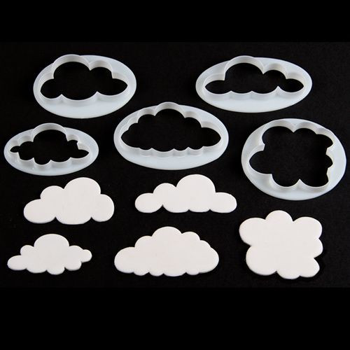 Ausstecher Cloud Cutters Set/5