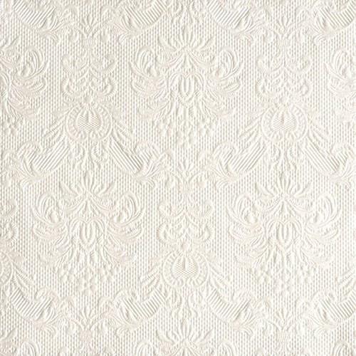Servietten Elegance pearl white