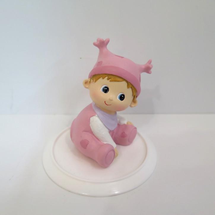 Figur Baby Zipfelmütze rosa