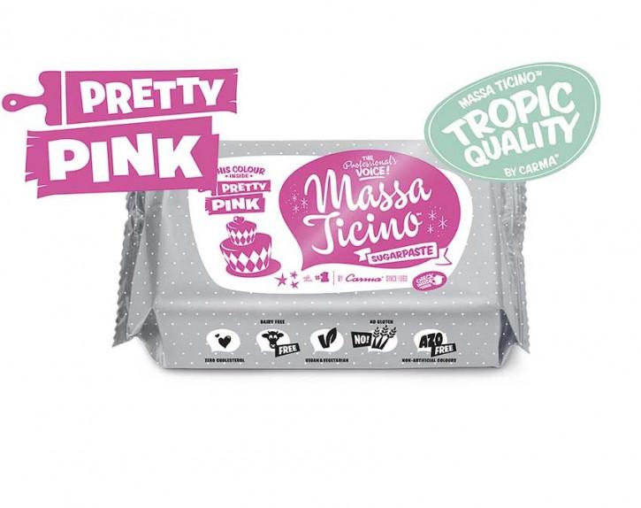Fondantmasse Massa ticino pretty pink rosa 250g