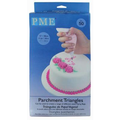 Parchment Triangles Pkg/50