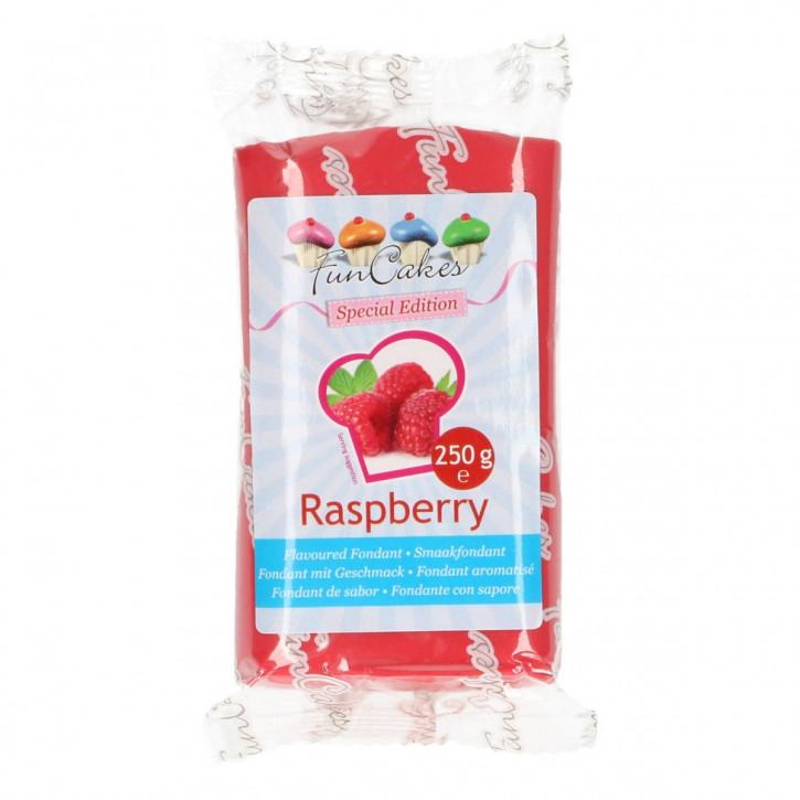 Fondantmasse 250g rose mit Geschmack Raspberry