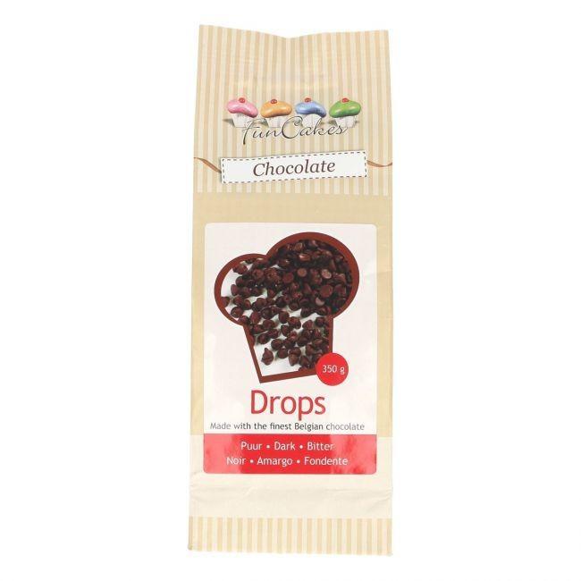 Schokoladendrops backfest Bitter/Dunkel