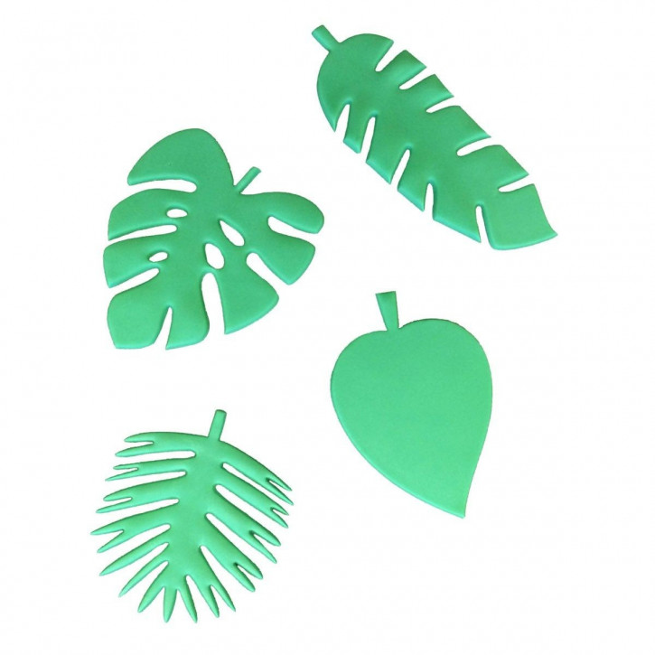 Ausstecher Tropical Leaf Set/4