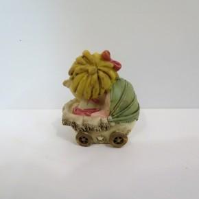 Figur Baby Marie im Stubenkorb klein