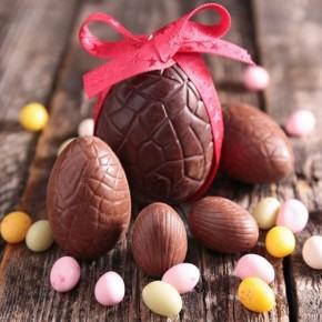 Mould für Schokolade Half Egg Small set/2